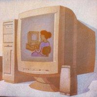 komputer - rzut
